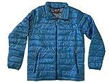 Patagonia Boys Down Sweater Full Zip Coat Jacket (Balkan Blue, Large (12))