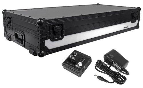 Odyssey FFX12CDJWBL Dual Large Format Tabletop CD/Digital DJ Coffin - Tabletop Digital Music Controller