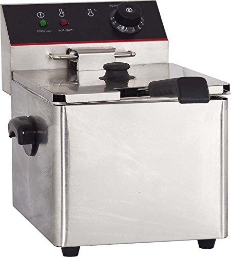 Hakka 6L Commercial Stainless Steel Deep Fryers Electric Pro