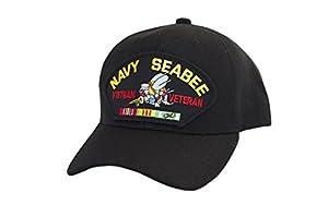 Military Productions Navy Seabees Vietnam Veteran Cap