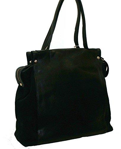 Byblos blu - Bolso al hombro para mujer Negro negro