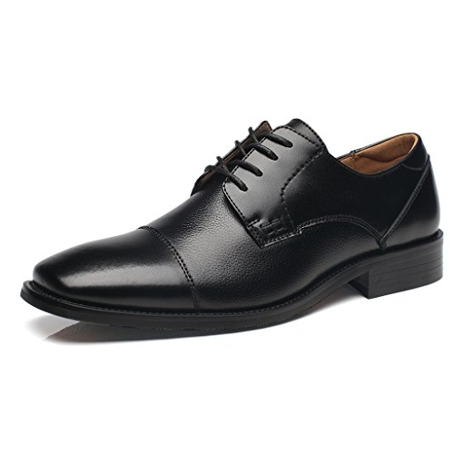 NXT NEW YORK Mens Dress Shoes Leather Oxford Shoes for Men Zapatos de Hombre Loafer Comfortable Classic Modern Formal Business Shoes