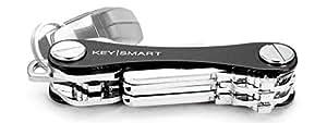 KeySmart Classic   Compact Key Holder and Keychain Organizer (2-14 Keys, Black)