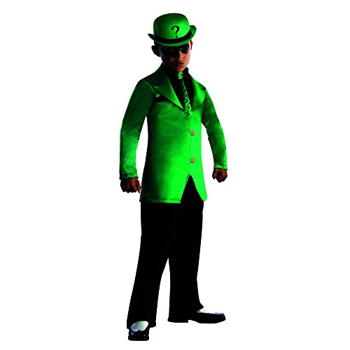 Rubies DC Super Villains Child Riddler Costume, Large