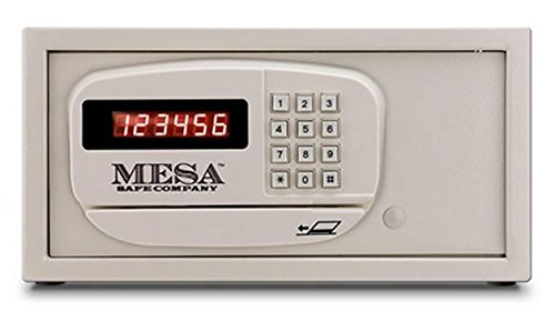 Mesa MH101E-WHT-KA Hotel Safe in White with Electronic Lock