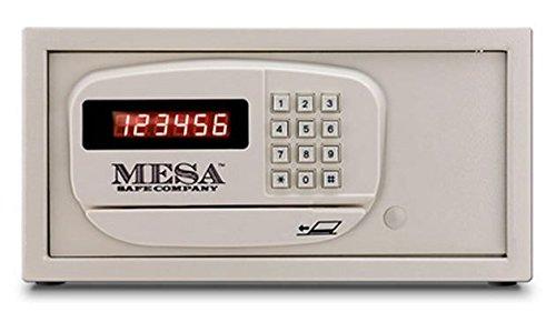 (Mesa Safe Mesa Mhrc916E-Wht-KA 1.2 cu' Hotel Safe, All Steel with Electronic Lock, Keyed Alike, Cream)