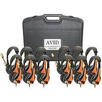 Avid Education 8EDU-12CPAE-36OR Headphones - Classroom Pack, Orange