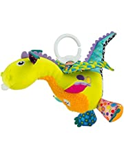 Lamaze Flip Flap Dragon Plush Stroller Toy