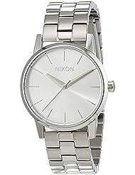 Nixon Womens Kensington A3611920 Silver Stainless-Steel Quartz Watch