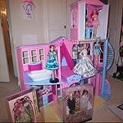Amazon Com Mattel Barbie 3 Story Dream House Playset