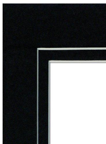 Imperial Frames schwarz Doppel mattboard, 3–1 2 von 5 Fotos in 5 von 7 Frames B007PC58M6   Modernes Design