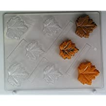 Small maple/oak leaf AO126 All Occasion Chocolate Candy Mold by Concepts in Candy