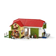 Schleich Large Farm with Animals and Accessories Action Figure
