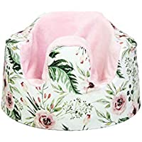 Blooms Floral Bumbo Seat Cover, Handmade Cover for Floor Seat Bumbo, Fitted Bumbo Cover