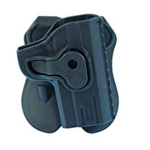 """Caldwell Tac Ops 1911 Molded Retention Holster, 3"""", Black"""