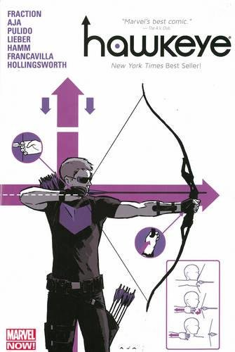 Amazon.com: Hawkeye, Vol. 1: 9780785184874: Aja, David, Pulido, Javier,  Francavilla, Francesco, Davis, Alan, Hamm, Jesse, Fraction, Matt: Books