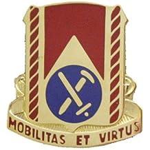 710th Support Bn Unit Crest (Mobilitas Et Virtus)