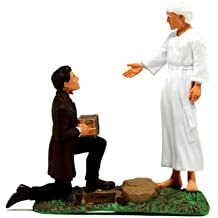 LDS Plastic Joseph Smith Receives the Plates Figurine - 4 Tall - LDS Kids, LDS Children, LDS Christmas Gift, LDS Restoration by Latter Day Designs