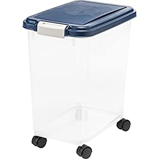 IRIS USA Airtight Pet Food Storage Container MP-8, 33 QT