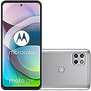"""Smartphone Moto G 5G Prata Prisma, com Tela 6,7"""", 5G, 128GB e Câmera Tripla de"""