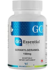 Wellness Extract GG Essential Annatto Derived Dietary Supplement for Statin Users, Cardiovascular Support, Pack of 60 Softgels Capsules 150mg