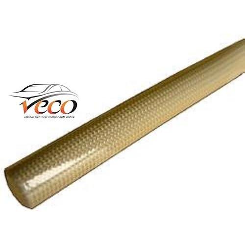 2,5mm Fil revêtu de verre résistant à la chaleur polyuréthane Gaine câble 1metre 191383