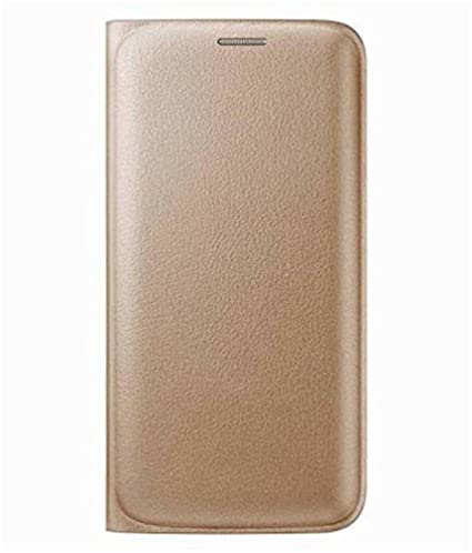 the best attitude bcc41 3bd03 Evoque Synthetic Flip Cover for Samsung Galaxy J2 Pro(Golden)