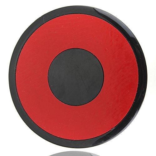 Funnytoday365 Car Dashboard Mount Disc For Tomtom/Garmin Gps Mobile Phone Suction Cap Holder