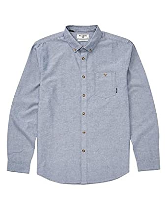 Billabong Mens All Day Long Sleeve Woven Shirt: Amazon.es: Ropa y ...