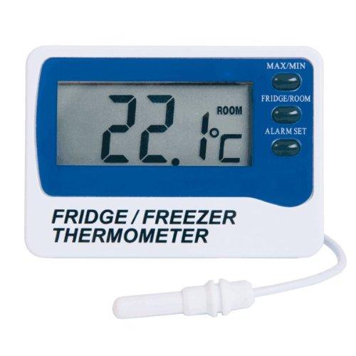 Compra Termómetro para nevera / congelador con sonda externa e ...