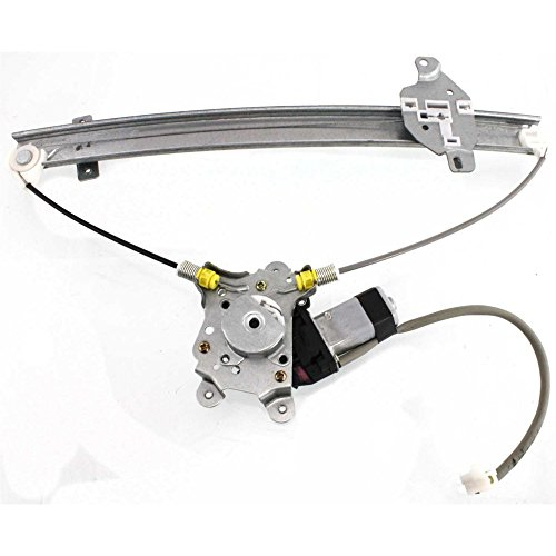 (Front Window Regulator for Mitsubishi Lancer 02-03 Left Power W/Motor Es/Ls/Oz Rally Models)