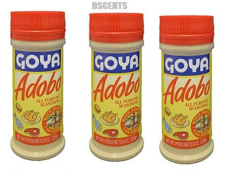 Amazon Com Goya Adobo All Purpose Seasoning 8 Ounces Pack Of 3 Grocery Gourmet Food
