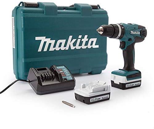 Makita HP347DWE Taladro percutor a bateria 14.4V litio-ion 1.1 Ah