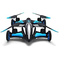 JJRC H23W Air Ground Flying Car 0.3MP Wifi FPV Camera 3D RC Drone Quadcopter (Blue)