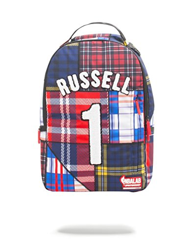 NBA LAB X Sprayground D'Angelo Rusell Plaid Jersey ()