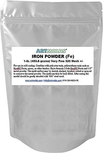 ArtMolds Iron Powder 1-lb (453.6 Grams)