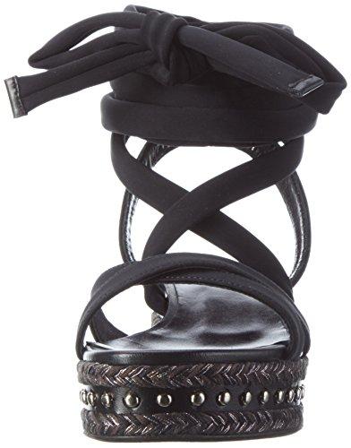 Laurèl Spartiates Sandale 900 Femme Noir q8wYXOHw