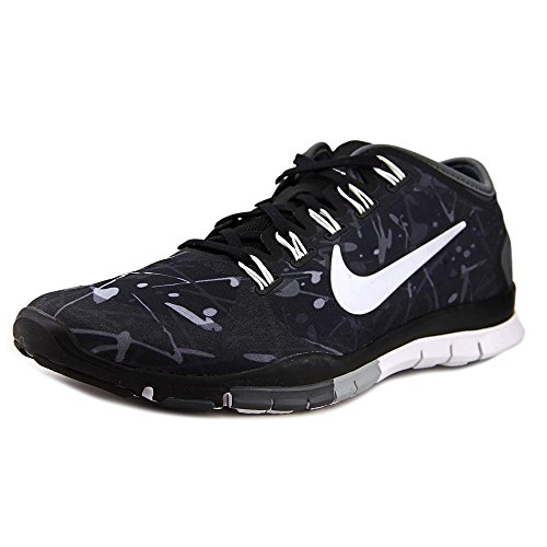 e9f7dca925fd Galleon - Nike Women s Free TR Connect 2 Training Shoe Black Wolf Grey White  Size 9 M US