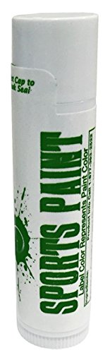Elite Choice Green Metallic Eye Black Face Paint - Lacrosse Eye Black Tube - Safe for Kids,  Adults, Athletes, Halloween, Fans and all Sports like Football, Baseball, Softball (Green (Paint Faces For Halloween)