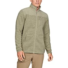 Under Armour Men's Specialist Full Zip 2.0 Jacket, Range Khaki Fade Heather (237)/Range Khaki, X-Large