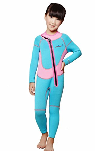 2.5mm Neoprene Wetsuit for Kids Boys Girls One Piece - For Best Swimming Wetsuits