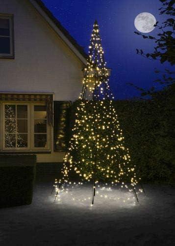 Albero Di Natale 400 Cm.Fairybell 3 D Albero Di Natale 400 Cm Amazon It Giardino E Giardinaggio