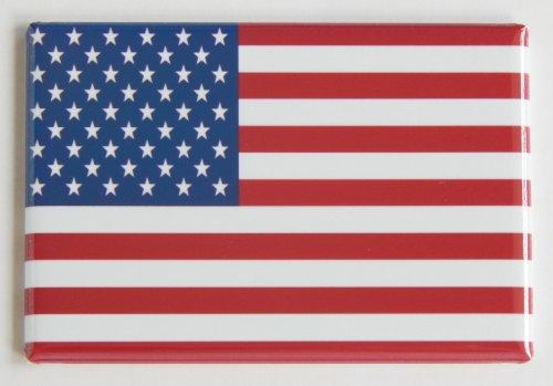 Flag Refrigerator Magnet - United States of America Flag Fridge Magnet (2 x 3 inches)