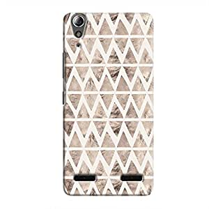 Cover It Up - Stone Triangles White A6000 Hard case