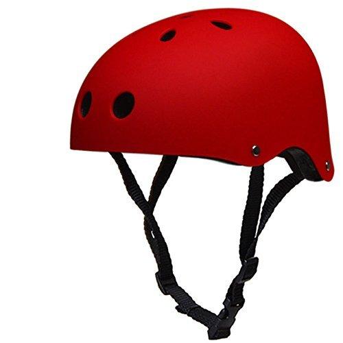 【在庫僅少】 スケートボードヘルメット マルチスポーツヘルメット – 耐衝撃性 安全ヘルメット 通気孔付き ロングボード マルチスポーツ サイクリング 耐衝撃性 Medium スケートボード スクーター ローラー ロングボード スケート ローラーブレード 電動バイク B01N0UTABX Medium|レッド レッド Medium, マカベマチ:a099b2c5 --- a0267596.xsph.ru
