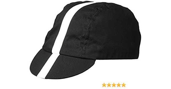 XL White//World Champion Stripe Pace Sportswear Traditional Cycling Cap