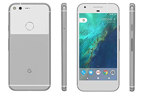 Google Pixel XL Phone 128GB - 5.5 inch Display (Factory Unlocked US Version) (Very Silver) (Best Price For Nexus 5x 32gb)