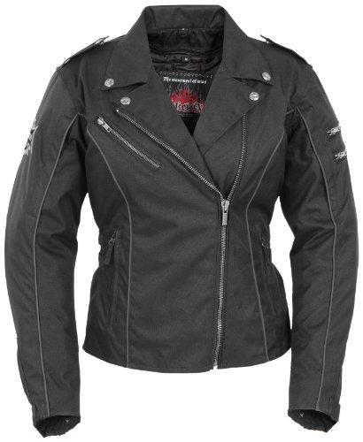 Pokerun Mirage 2.0 Womens Black Textile Jacket - (Mirage 2.0 Jacket)