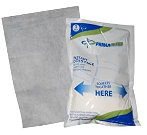 "Primacare PCP-69 Instant Cold Pack with Cover Size 6"" x 9"" (Pack of 24)"