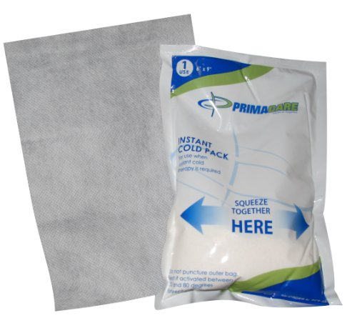 Primacare PCP-69 Instant Cold Pack with Cover Size 6